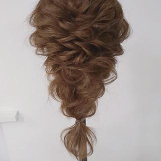 フェミニン デート ヘアアレンジ 結婚式 ヘアスタイルや髪型の写真・画像 ヘアスタイルや髪型の写真・画像