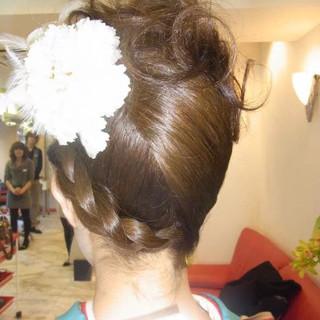 ヘアアレンジ アップスタイル ロング 着物 ヘアスタイルや髪型の写真・画像