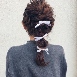 米永景子さんのヘアスナップ