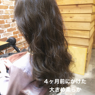 アンニュイほつれヘア ゆるふわパーマ パーマ デジタルパーマ ヘアスタイルや髪型の写真・画像