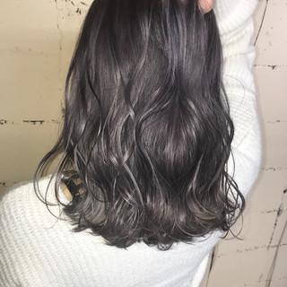 透明感 外国人風 モード ハイトーン ヘアスタイルや髪型の写真・画像