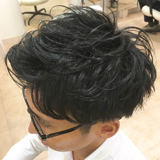 刈り上げ ショート コンサバ メンズ ヘアスタイルや髪型の写真・画像