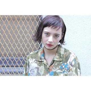 くせ毛風 ショート ストリート 外国人風 ヘアスタイルや髪型の写真・画像