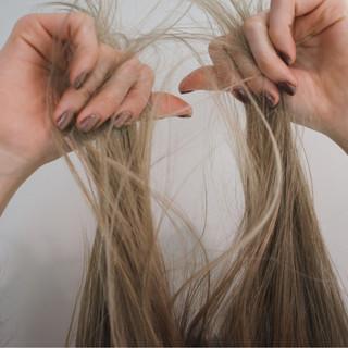 グレーアッシュ ボブ ナチュラル ミルクティー ヘアスタイルや髪型の写真・画像