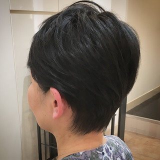 ショートヘア ベリーショート ショート コンサバ ヘアスタイルや髪型の写真・画像