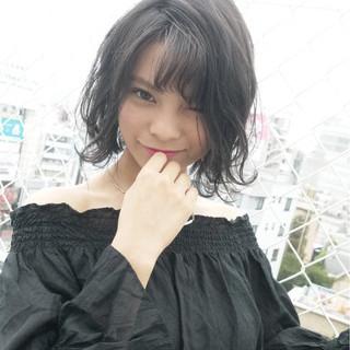 秋 モテ髪 かわいい ショート ヘアスタイルや髪型の写真・画像