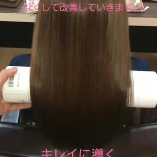 名古屋市守山区 頭皮ケア ナチュラル ロング ヘアスタイルや髪型の写真・画像