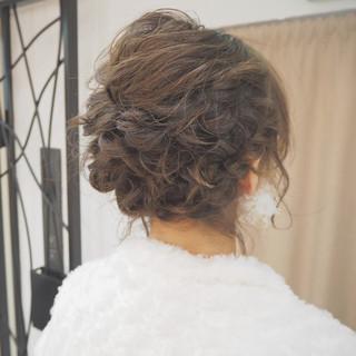 ナチュラル ヘアアレンジ 編み込み ボブ ヘアスタイルや髪型の写真・画像 ヘアスタイルや髪型の写真・画像