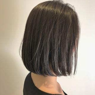 大人女子 ロブ 色気 ショート ヘアスタイルや髪型の写真・画像