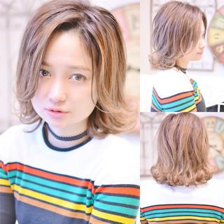 こなれ感 ミディアム 冬 パーマ ヘアスタイルや髪型の写真・画像