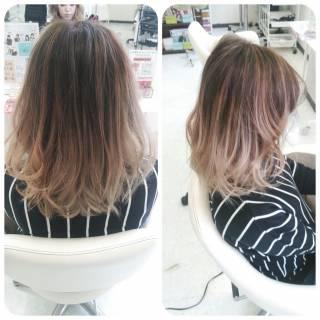 アッシュ 黒髪 ヘアアレンジ ストリート ヘアスタイルや髪型の写真・画像