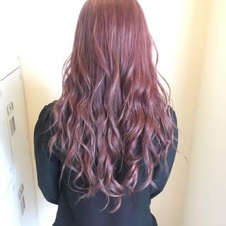 フェミニン モテ髪 ロング 透明感 ヘアスタイルや髪型の写真・画像