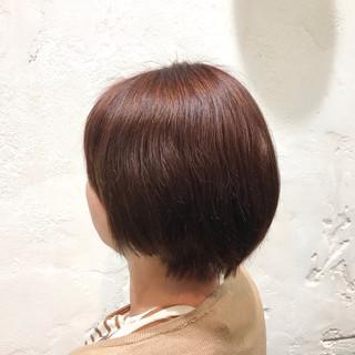 ブリーチ インナーカラー ピンク ブリーチカラー ヘアスタイルや髪型の写真・画像
