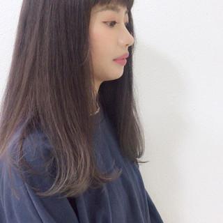 透明感 大人かわいい 抜け感 ロング ヘアスタイルや髪型の写真・画像 ヘアスタイルや髪型の写真・画像