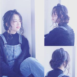 アンニュイ ナチュラル 抜け感 透明感 ヘアスタイルや髪型の写真・画像