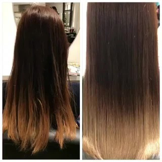 ストレート 艶髪 パーマ ロング ヘアスタイルや髪型の写真・画像