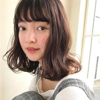 フェミニン グレージュ ゆるふわ エフォートレス ヘアスタイルや髪型の写真・画像