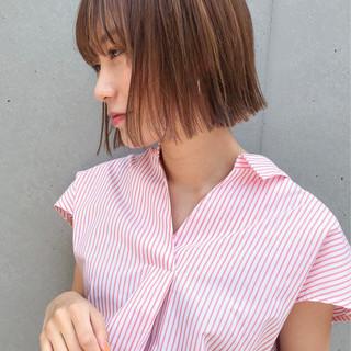 メイク ナチュラル コスメ・メイク ヘアカラー ヘアスタイルや髪型の写真・画像