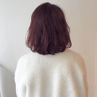 外国人風カラー グレージュ 外ハネ ボブ ヘアスタイルや髪型の写真・画像