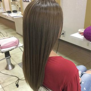 ハイライト 外国人風 ロング 透明感 ヘアスタイルや髪型の写真・画像 ヘアスタイルや髪型の写真・画像