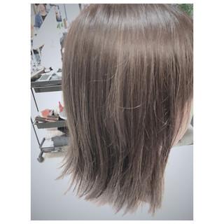 ローライト ナチュラル ボブ ハイライト ヘアスタイルや髪型の写真・画像