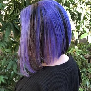 ストリート グラデーションカラー ボブ バレイヤージュ ヘアスタイルや髪型の写真・画像 ヘアスタイルや髪型の写真・画像