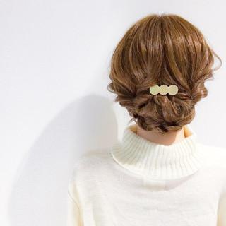 デート アウトドア フェミニン 簡単ヘアアレンジ ヘアスタイルや髪型の写真・画像