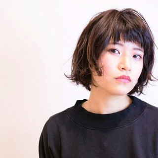 ボブ ナチュラル 大人女子 タンバルモリ ヘアスタイルや髪型の写真・画像
