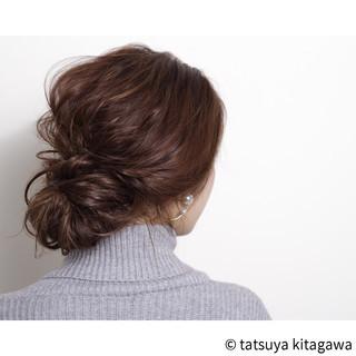 簡単ヘアアレンジ ショート ハイライト ロング ヘアスタイルや髪型の写真・画像