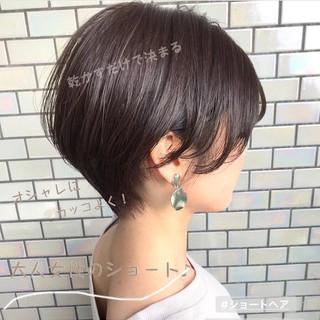 ショートヘア ベリーショート ショート デート ヘアスタイルや髪型の写真・画像