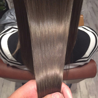 外国人風 ロング 外国人風カラー グレージュ ヘアスタイルや髪型の写真・画像 ヘアスタイルや髪型の写真・画像