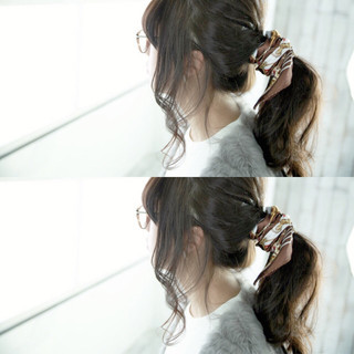 ゆるふわ ヘアアレンジ 簡単ヘアアレンジ 大人女子 ヘアスタイルや髪型の写真・画像
