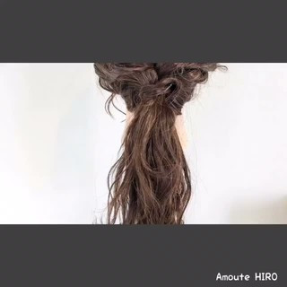フェミニン ショート 簡単 簡単ヘアアレンジ ヘアスタイルや髪型の写真・画像