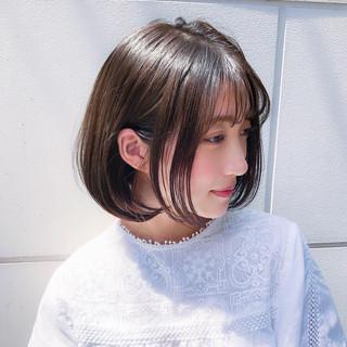 レイヤー ナチュラル 大人かわいい パーマ ヘアスタイルや髪型の写真・画像