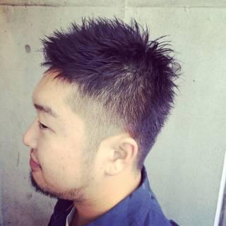 黒髪 ショート ベリーショート ボーイッシュ ヘアスタイルや髪型の写真・画像 ヘアスタイルや髪型の写真・画像