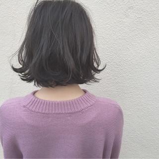 ボブ ロブ 外国人風 ナチュラル ヘアスタイルや髪型の写真・画像 ヘアスタイルや髪型の写真・画像