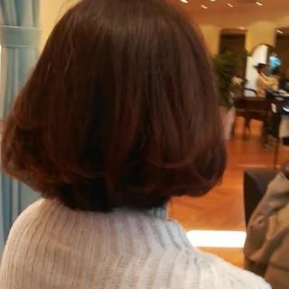 モテ髪 フェミニン アンニュイほつれヘア ボブ ヘアスタイルや髪型の写真・画像