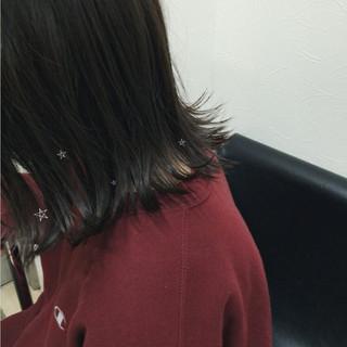 ウェットヘア 透明感 ヘアアレンジ ガーリー ヘアスタイルや髪型の写真・画像