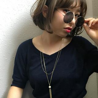 外国人風 ストリート パーマ アッシュ ヘアスタイルや髪型の写真・画像