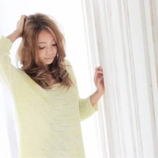 ウェーブ 抜け感 外国人風 大人かわいい ヘアスタイルや髪型の写真・画像