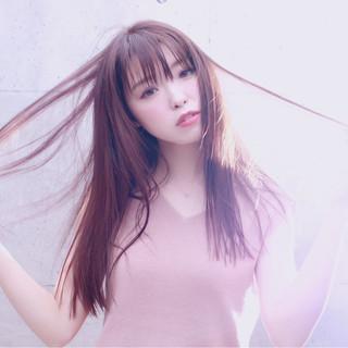 透明感 秋 暗髪 アッシュ ヘアスタイルや髪型の写真・画像