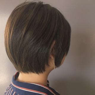 デート ショートボブ ショート 大人女子 ヘアスタイルや髪型の写真・画像 ヘアスタイルや髪型の写真・画像
