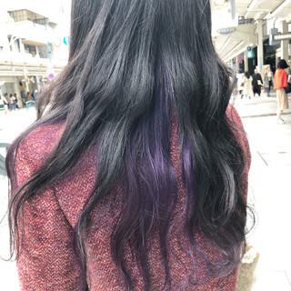 インナーカラー ブリーチオンカラー 外国人風カラー ブリーチ ヘアスタイルや髪型の写真・画像 ヘアスタイルや髪型の写真・画像