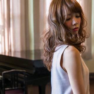 ゆるふわ ガーリー 大人かわいい フェミニン ヘアスタイルや髪型の写真・画像