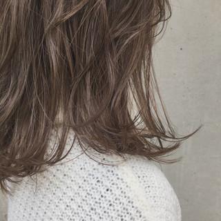 ミディアム 愛され 外国人風 透明感 ヘアスタイルや髪型の写真・画像
