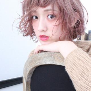 色気 冬 ナチュラル ゆるふわ ヘアスタイルや髪型の写真・画像