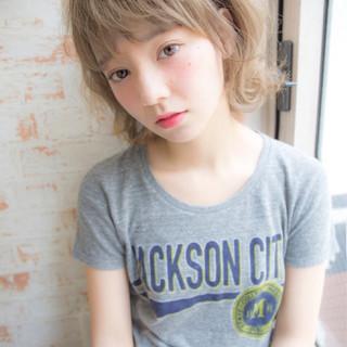 アッシュ ストリート 大人かわいい 外国人風 ヘアスタイルや髪型の写真・画像