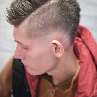 ハイトーン ストリート ボーイッシュ ショート ヘアスタイルや髪型の写真・画像