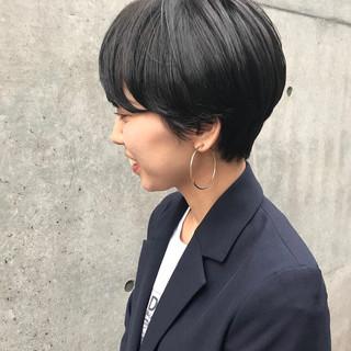 ナチュラル ショートヘア ベリーショート ハンサムショート ヘアスタイルや髪型の写真・画像