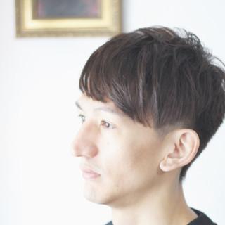 ナチュラル メンズ メンズショート メンズヘア ヘアスタイルや髪型の写真・画像